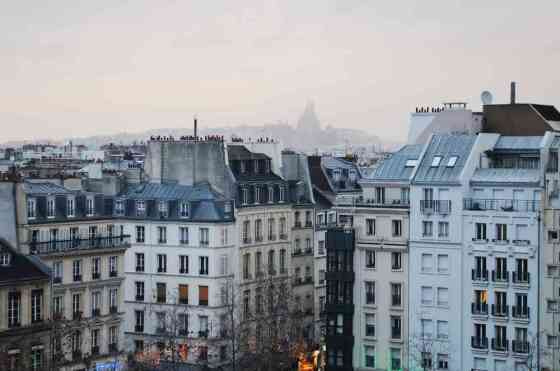 Paris Rooftops on Shutterstock