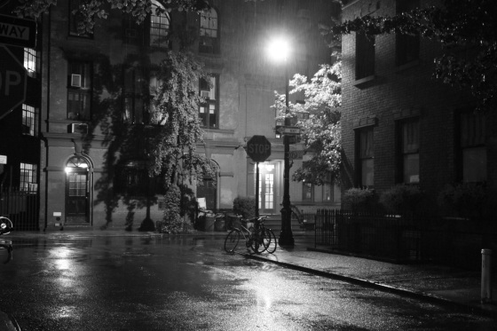 downpour in the west village by meagan kirkpatrick